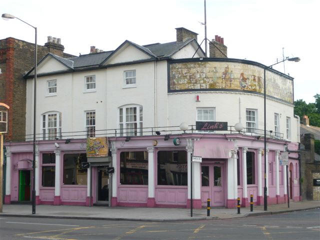 Kentish Drovers & Halfway House, 720-722 Old Kent Road, SE15 - in May 2008
