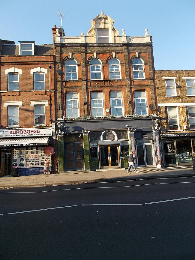Previously the Queen Adelaide, 481 - 483 Hackney Road - in February 2019