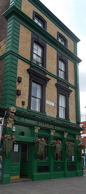 Salmon And Ball, 502 Bethnal Green Road, Bethnal Green E2 - in June 2018